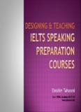 Teaching IELTS Speaking Preparation Courses - Tahasoni