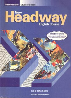 Page 1 Intermediate Student's Book Headway online www.oup.com/elt/headway for interactive ...
