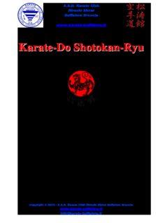 Karate-Do Shotokan-Ryu