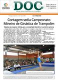 Contagem sedia Campeonato Mineiro de Ginástica de Trampolim