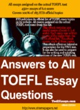 Sample Essays for the TOEFL Writing Test.pdf - Papers