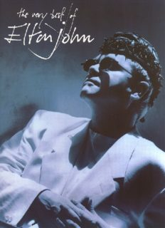 The Very Best of Elton John. Piano Music Sheet