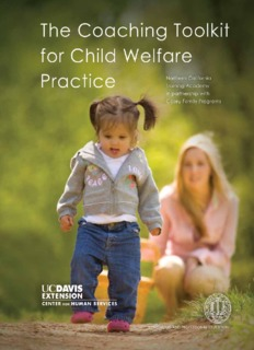 Coaching Toolkit for Child Welfare