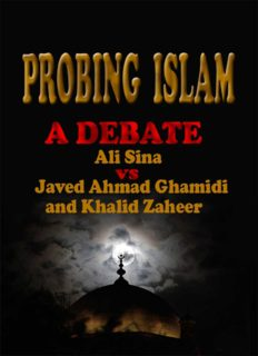 Probing Islam Ali Sina Vs Javed Ahmed Ghamidi