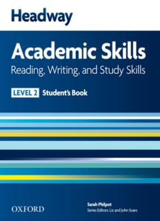 Headway Academic Skills 2. Reading, Writing, and Study Skills. Student's Book