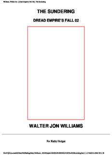 Walter Jon Williams - Dread Empire's Fall 02 - The Sundering