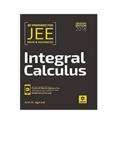Amit M Agarwal Integral Calculus IIT JEE Main Advanced Fully Revised Edition for IITJEE Arihant Meerut