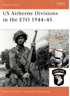 US Airborne Divisions in the ETO 1944-45 (OSPREY Battle Orders  25)