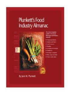 Plunkett's Food Industry Almanac 2010: Food Industry Market Research, Statistics, Trends & Leading Companies