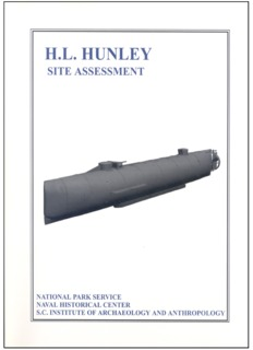 H.L. Hunley: Site Assessment.