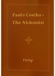 The Alchemist by Paulo Coelho (1)