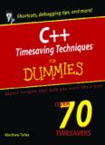 C++ Timesaving Techniques For Dummies