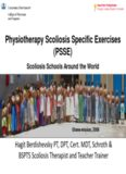 Physiotherapy Scoliosis Specific Exercises (PSSE)