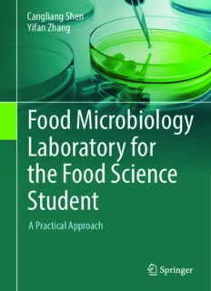 Food microbiology laboratory for the food science student : a practical approach