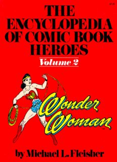 The Encyclopedia of Comic Book Heroes, Volume 2: Wonder Woman
