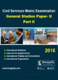 Download Civil Services Mains Examination General Studies Paper II Part II PDF