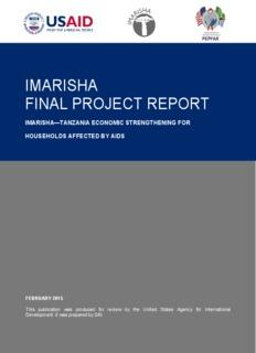 imarisha final project report