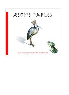 Aesop's Fables - The PubWire