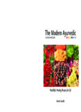 The Modern Ayurvedic Cookbook - Hindu Temple of Greater