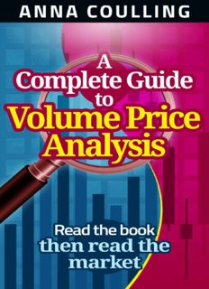 Anna Coulling A Complete Guide To Volume Price Analysis