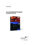 Customizing Materials Management - SAP PRESS