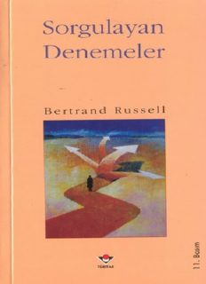 Sorgulayan Denemeler - Bertrand Russell