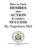 Achieve SUCCESS By Napoleon Hill