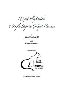 G-Spot PlayGuide: 7 Simple Steps to G-Spot Heaven!