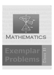 NCERT Class 11 Mathematics Exemplar Problems
