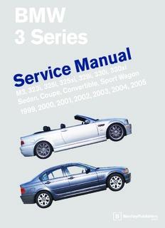E46 Bentley Service Manual