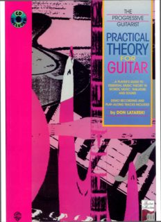 Practical Theory for Guitar: A Player's Guide to Essential Music Theory in Words, Music, Tablature, and Sound, Book & CD