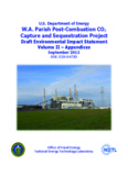 W.A. Parish Post-Combustion CO2 Capture and Sequestration Project
