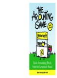 Accounting Game, 2nd Edition. Basic Accounting Fresh from the Lemonade Stand
