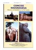 Concise Mahavamsa Ruwan Rajapakse, P.E., Sinhalanet.com 1