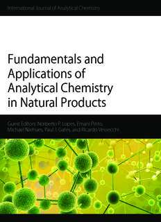 Fundamentals and Applications of Analytical Chemistry