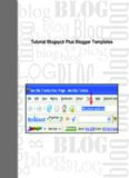 Tutorial Blogspot Plus Blogger Templates