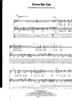 Beatles - Rubber Soul - Guitar Recorded Version