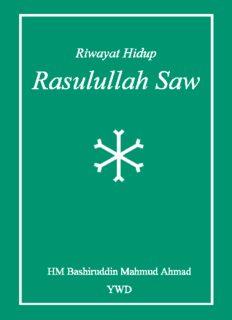 Riwayat Hidup Baginda Nabi Besar Muhammad Rasulullah SAW