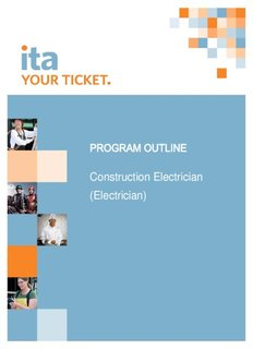 Construction Electrician (Electrician) - Industry Training Authority