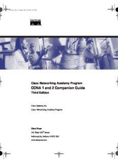 Cisco Networking Academy Program: CCNA 1 and 2 companion guide