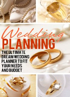 Wedding Planning - The Ultimate Dream Wedding Planner