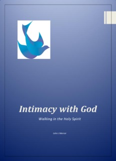 Intimacy with God - Walk in the Holy Spirit