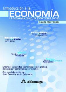 Introducción a la economía. La economía como un todo y para todos