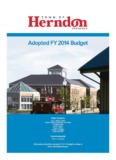 adopted FY 2014 Budget - Town of Herndon