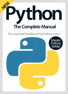 PYTHON The Complete Manual: The essential handbook for Python users