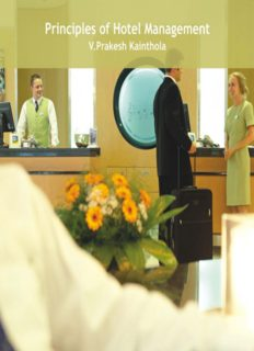 Principles of Hotel Management