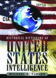 Historical Dictionary of United States Intelligence (Historical Dictionaries of Intelligence