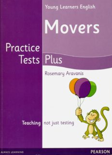Cambridge Young Learners English Practice Tests Plus Movers Students' Book