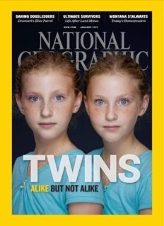 National Geographic Jan 2012 (Twins: Alike But Not Alike) volume 221