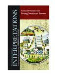 Nathaniel Hawthorne's Young Goodman Brown (Bloom's Modern Critical Interpretations)